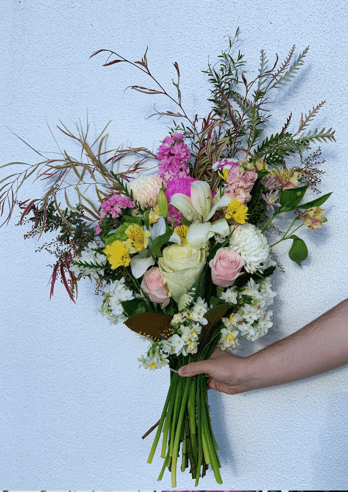 bouquet of luck (colourful flowers)